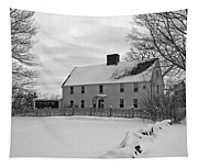 Winter At Noyes House Tapestry