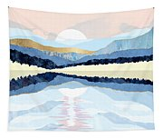 Winter Reflection Tapestry