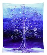 Winter Tree One Tapestry