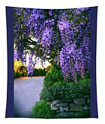 Wisteria At Sunset Tapestry
