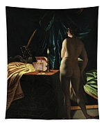 Woman Tapestry