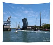Wrightsville Beach Bridge In North Carolina Tapestry