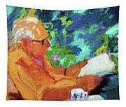 Yehuda Reading Tapestry