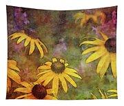 Yellow Among Purple 4234 Idp_2 Tapestry