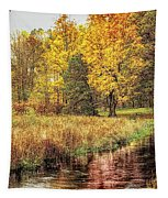Yellow Forest Tapestry