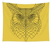 Yellow Owl Tapestry