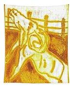 Yellow Ram Tapestry