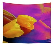 Yellow Tulips 2 Tapestry