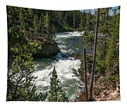Yellowstone Rapids Tapestry