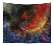 Ying Yang Fire And Water Tapestry