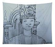 Young His Royal Highness Kabaka Ssabasajja Ronald Edward Frederick Kimera Muwenda Mutebi II  Tapestry