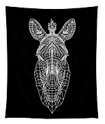 Zebra Mesh Tapestry