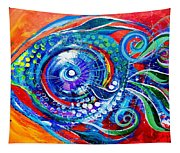 Colorful Comeback Fish Tapestry