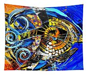 Crossover Fish Tapestry