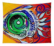 Happy Fish Compliments Transcending Time Tapestry