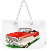 1961 Metropolitian Weekender Tote Bag