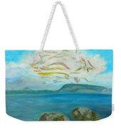 A Cloud Over The Sea Weekender Tote Bag
