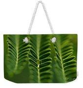 A Green Drop Weekender Tote Bag