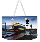 A Guided Bus Cambridgeshire Uk Weekender Tote Bag