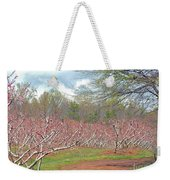 A Peach Orchard   Weekender Tote Bag