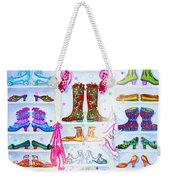 Alaska Berry Fairy Shoon Weekender Tote Bag