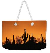 Arizona Sagurao Sunset Weekender Tote Bag