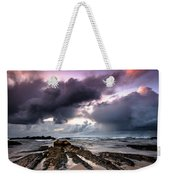 Around The World On A Boat Rock Weekender Tote Bag