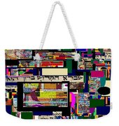 Atomic Bomb Of Purity 7 Weekender Tote Bag by David Baruch Wolk