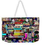 Atomic Bomb Of Purity 8 Weekender Tote Bag by David Baruch Wolk