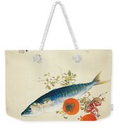 Autumn Fattens Fish And Ripens Wild Fruits Weekender Tote Bag