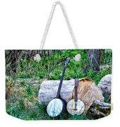 Banjos At The Woodpile Weekender Tote Bag