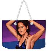 Barbara Carrera Painting Weekender Tote Bag