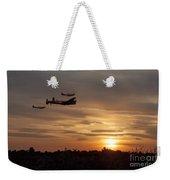 Battle Of Britain Memorial Sunset Weekender Tote Bag