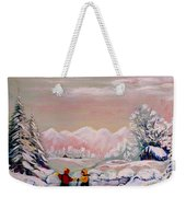 Beautiful Winter Fairytale Weekender Tote Bag