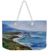 Big Sur Coastline Weekender Tote Bag