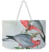 Birds Of Asia Weekender Tote Bag