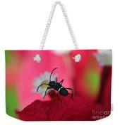 Black Bug Weekender Tote Bag