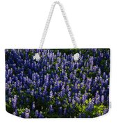 Bluebonnets In The Limelight Weekender Tote Bag