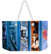 Bluesy Skateboard Art Weekender Tote Bag