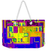 Bold And Colorful Phone Case Artwork City Abstracts By Carole Spandau Cbs Art Exclusives 132  Weekender Tote Bag