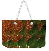 Brilliant Green Abstract 2 Weekender Tote Bag