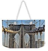 Brooklyn Bridge 3 Weekender Tote Bag