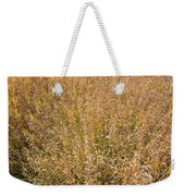 Brown Grass Texture Weekender Tote Bag