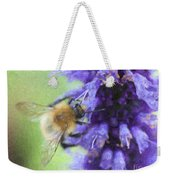 Bumblebee On Buddleja Weekender Tote Bag