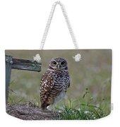 Burrowing Owls - Watching You 3 Weekender Tote Bag