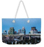 Busy City Weekender Tote Bag