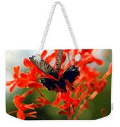 Butterfly Dance Weekender Tote Bag