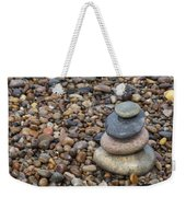 Cairn On Wet Pebbles Weekender Tote Bag