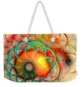 Chain Of Events Weekender Tote Bag by Anastasiya Malakhova