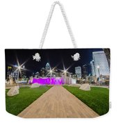 Charlotte Nc Usa - Charlotte Skyline Weekender Tote Bag